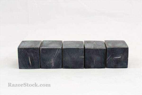 Проставки из черного рога буйвола. 35*25*25 мм