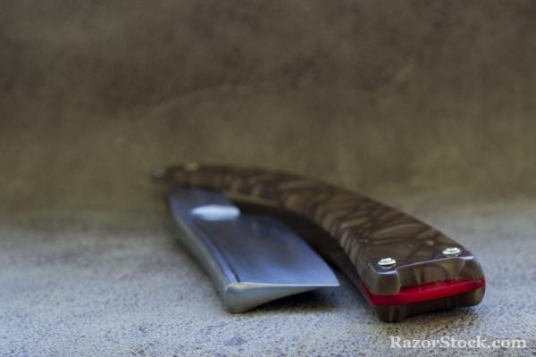 Змей. Кастомная опасная бритва