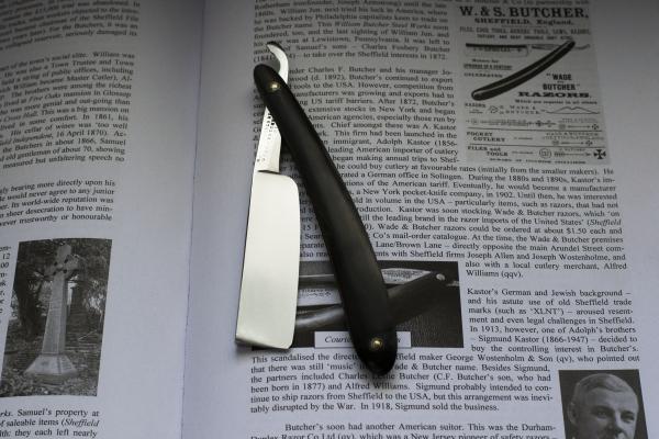 Опасная бритва Wade&Butcher 21. Англия