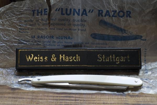 Немецкая опасная бритва Luna. A Feist & Co.