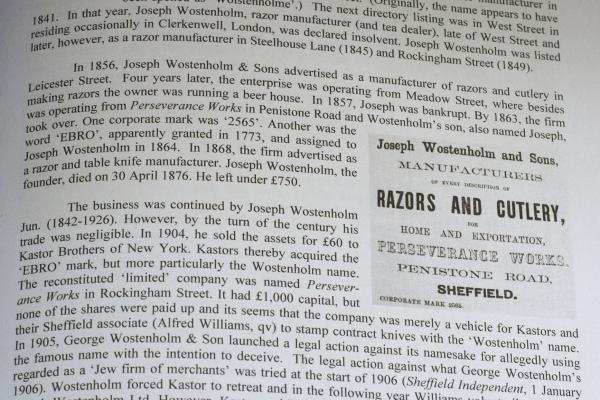 Опасная бритва Joseph Wostenholm & Sons. 2565