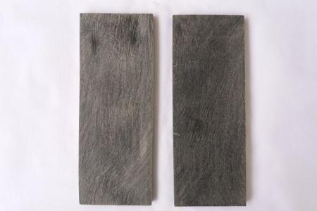 Пластины из черного рога буйвола 160*60*7-8