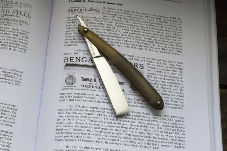 Опасная бритва Bengall Cast Steel. Англия.2