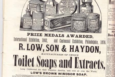 Английская опасная бритва  Low, Sons & Haydon. 330 Strand