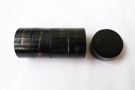 Цилиндр из черного рога буйвола. 20*40